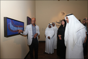 New exhibit by acclaimed calligrapher Tagalsir Hassan opens at Sharjah Calligraphy Museum