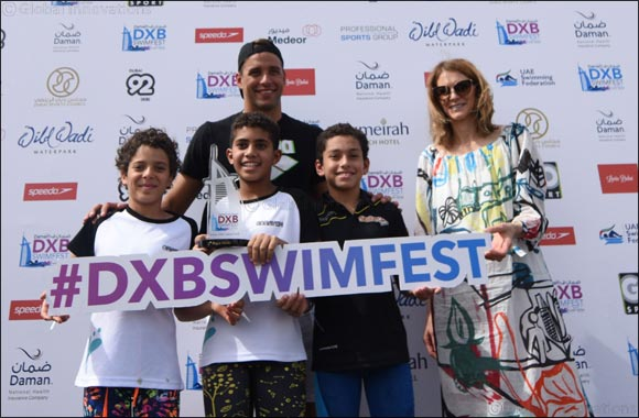 Triumphant First Daman Dxb Swimfest at Jumeirah Beach Hotel