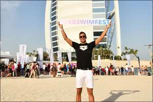 Triumphant First Daman Dxb Swimfest at Jumeirah Beach Hotel