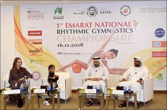 Lamia set to headline 1st Emarat National Rhythmic Gymnastics Championship