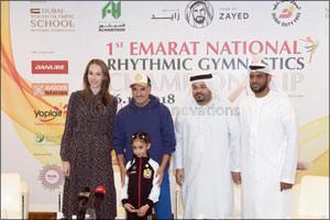 Lamia set to headline 1st Emarat National Rhythmic Gymnastics Championship