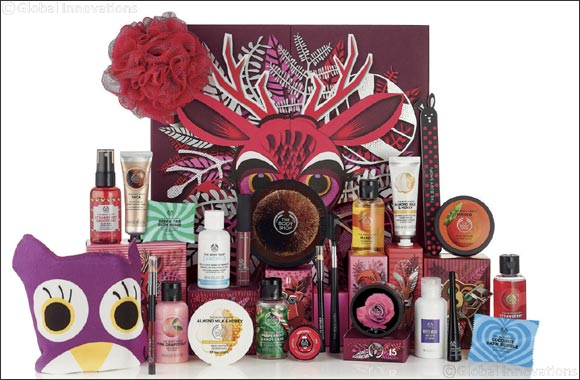 Get Ready for The Festive Season with The Body Shop's Enchanted by Nature Gift Collection