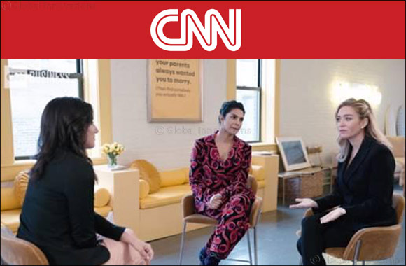 Priyanka Chopra tells CNN 'Technology gives us freedom'
