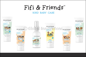 Everyday care for your baby's hair with Fifi & Friends!