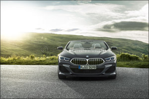 The new BMW 8 Series Convertible.