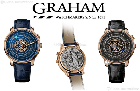 The Geo-Graham Orrery Tourbillon presents a galaxy you can reach out and wear Geo-Graham Orrery Tourbillon
