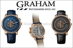 The Geo-Graham Orrery Tourbillon presents a galaxy you can reach out and wear Geo-Graham Orrery Tour ...