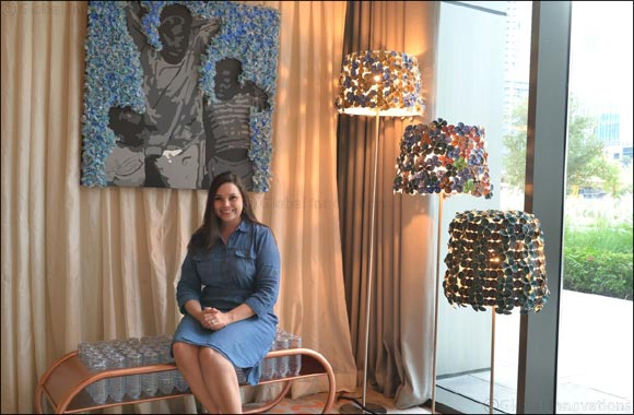 Rove  Hotels  &  Mariska  Nell  present  the  Sustainability  Corner  during  Downtown  Design