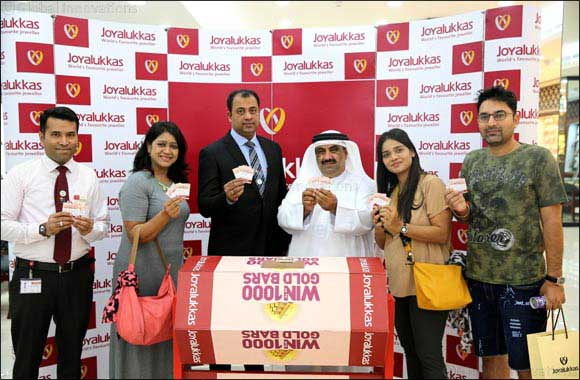 Joyalukkas brings joy to hundreds around the world with gold bar giveaway this festive season