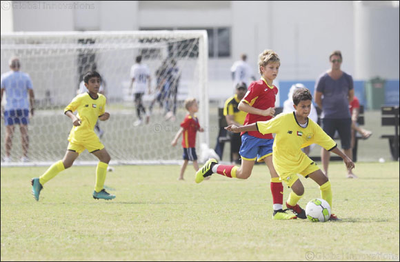 UAE National Team girls off to a flying start in the Dubai Sports Council Football Academies Championship