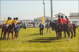 Knowledge and Human Development Authority (KHDA) and Amity University enjoy a friendly polo match as ...