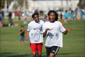 Girls Crush it at duFC in Abu Dhabi Group Stage 2