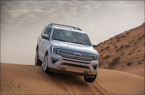 The 2018 Ford Expedition's Sand Mode Secrets: Ford's First Full-Sized SUV with Terrain Management System, Developed with Middle East Drivers in Mind