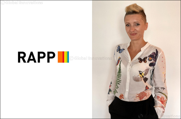RAPP's Development Continues as New Crm Director Joanna Witsch Joins the Mena Team