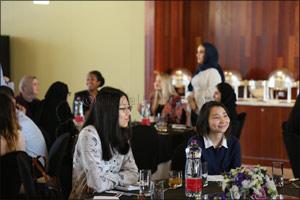 NU-Q hosts event for distinguished students