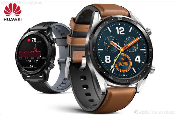 Huawei Launches A New Era in Smartwatch Endurance