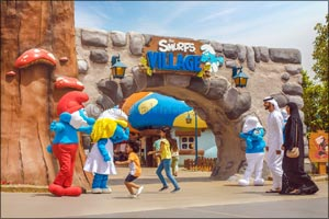 The Smurfs are turning 60 at MOTIONGATE� Dubai