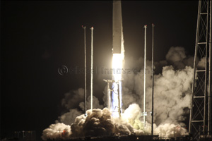 Rocket Carrying First-Ever Research and Earth Observation Cubesat Built by Khalifa University Studen ...