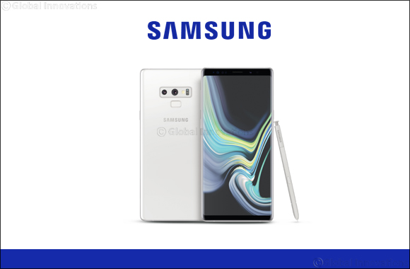 Samsung Galaxy Note9 Alpine White Edition Now Available for Pre-Order in the UAE