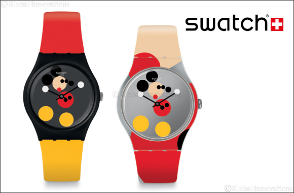 Swatch Celebrates Mickey Mouse With Damien Hirst