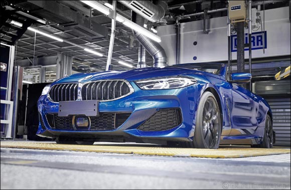 Start of production in Dingolfing: First BMW 8 Series Convertible rolls off the line.