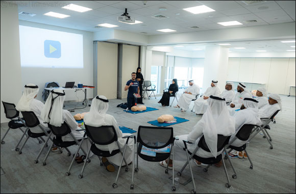 MBRU enhances the skills of government employees with First Aid training for the Dubai Protocol Department