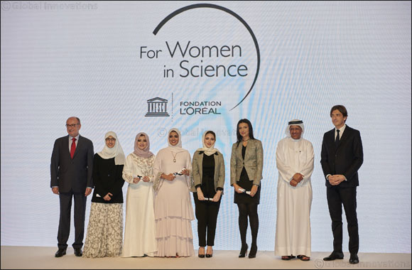 In Partnership with Zayed University  L'Oréal Honours Remarkable GCC Women Scientists at L'Oréal-UNESCO 'For Women in Science' Middle East Fellowship 2018