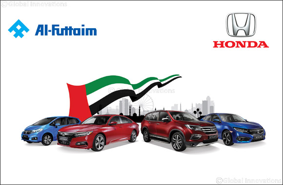 Al-Futtaim Honda celebrates UAE National Day with Honda National Day Big Shopper Offer
