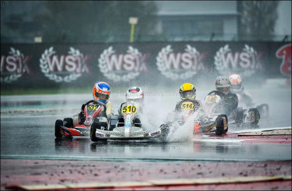 Young Emirati champion Rashid Al Dhaheri Narrowly Misses Out on Podium at WSK Final Cup