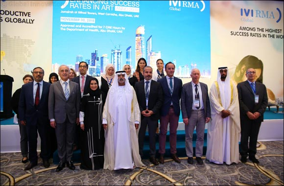 HE Sheikh Nahayan Mabarak Al Nahayan, UAE Minister of Tolerance opens In-Vitro Fertilization (IVF) Conference in Abu Dhabi today (30th November)