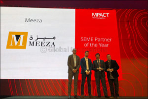 MEEZA receives �SEME Partner of the year' Award by McAfee at MPOWER Cybersecurity Summit
