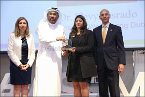 UOWD's quality management expert wins ASQ-UAE Quality Professionals Award