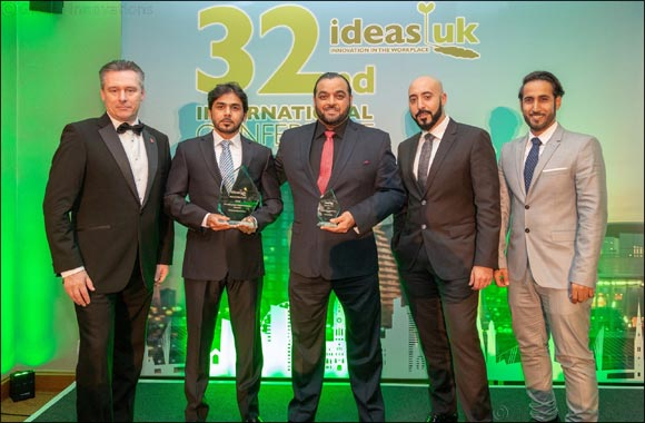 Dubai Customs wins 3 awards from Ideas UK 2018
