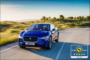 Five-Star Euro NCAP for Jaguar's Electric I-PACE
