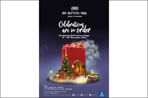 Ring in a dazzling festive season at Ibn Battuta Mall