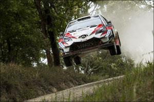 GAZOO Racing Wins Australia Rally at FIA World Rally Championship