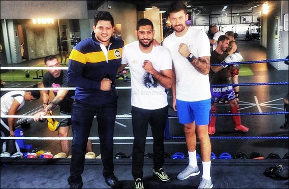 Boxer Amir Khan lands new title in Dubai