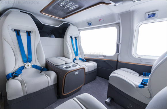 New ACH145 Mercedes-Benz Style Cabin Model Highlights First Presence at MEBAA for Airbus Corporate Helicopters