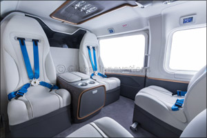 New ACH145 Mercedes-Benz Style Cabin Model Highlights First Presence at MEBAA for Airbus Corporate H ...
