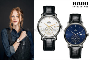 The Rado DiaMaster Petite Seconde Automatic COSC The Rado watch at the top of the precision timing t ...
