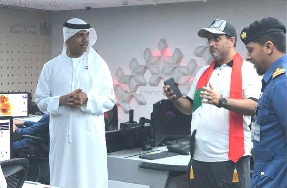 Director of Dubai Customs inspects facilities at Dubai Airport