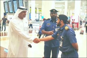 Director of Dubai Customs inspects facilities at Dubai Airport