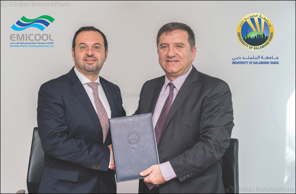 University of Balamand Dubai and Emicool agree MoU for student scholarships