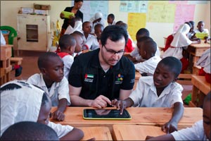 Dubai Cares' program in Kenya harnesses the power of technology to boost learning outcomes