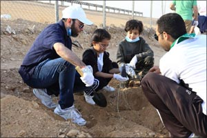 Xerox Saudi Arabia Participates in Riyadh Sustainability Initiative; Plants 200 Trees