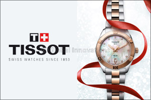Tissot PR100 Lady Sport � Chic Glamourous Festive Season