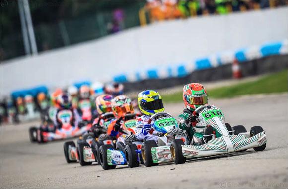 Young Emirati Champion Rashid Al Dhaheri Powers Ahead to Stunning Victory at the Macau International Kart Grand Prix
