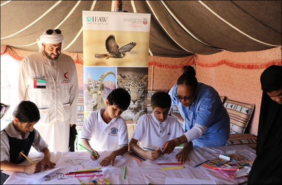 IFAW participates in special initiative with the Al Ain municipality marking the International Day of Disabled Persons
