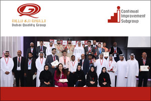 Nine winners honored by DQG for their innovative ideas at the 10th Global Continual Improvement & In ...