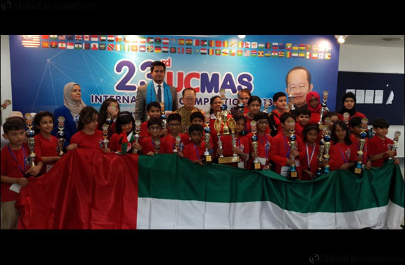 UAE students win top awards at international math competition in Malaysia